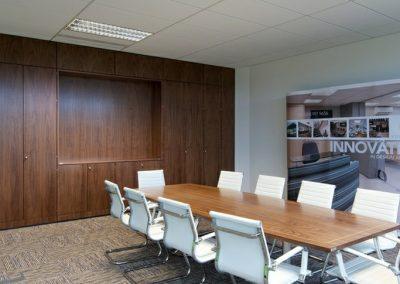 Boardroom Storage Wall