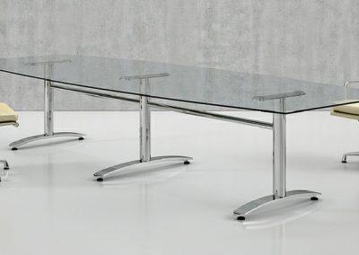 Glide Glass Boardroom Table