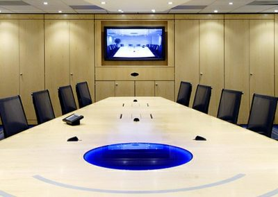 CR Veneer Boardroom Table