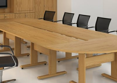 Hardwood Modular Tables